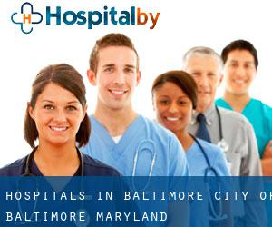 hospitals in Baltimore (City of Baltimore, Maryland)